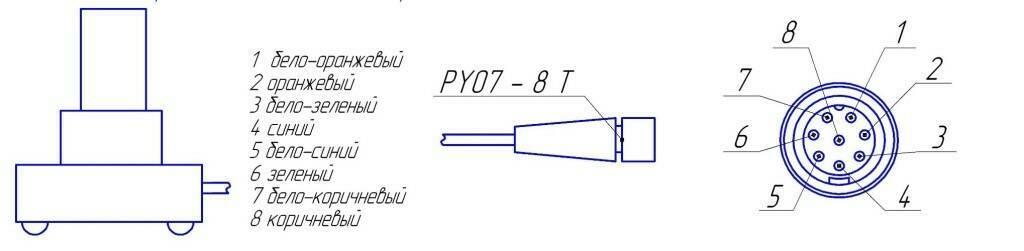 Распайка герморазъема PY07 ИН-Д3